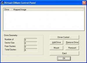 Virtual CD Control Tool